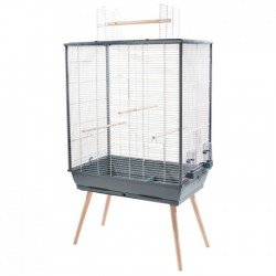 Cage NeoJiliTG 81x48x132cm,gr(104135GRI) ZOLUX Cages Equipées