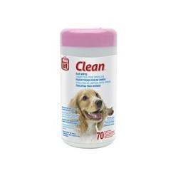 Lingettes Clean DO oreilles,70 non parf. DOGIT Produits Entretien