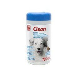 Lingettes Clean DO yeux, 70, non parf.