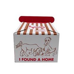 Dogit dog carrier, corrugated