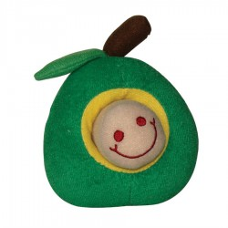 Dogit Luvz Plush Worm - Green Apple-V