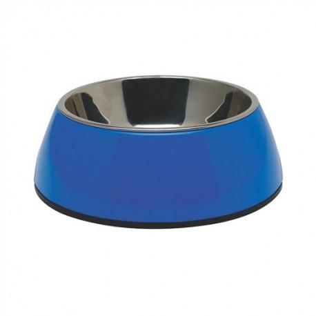 Bol Dogit rond en céramique pour chiens, noir, petit, 350ml