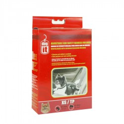 Dogit Adjustable Nylon Car Safety Harness, Black, X-Small1.6