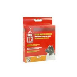 DO Nylon Dog Muzzle, Black, S,12cm-V