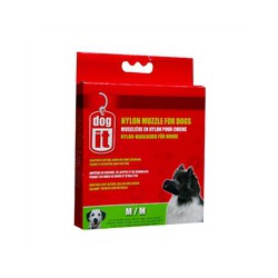 DO Nylon Dog Muzzle, Black, M,14cm-V