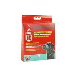 DO Nylon Dog Muzzle, Black, L,18.5cm-V