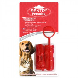 Petrodex Dlxe Finger Brushes, 2pk-22445