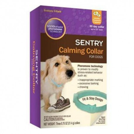 Collier apaisant Sentry pour chiens, 3