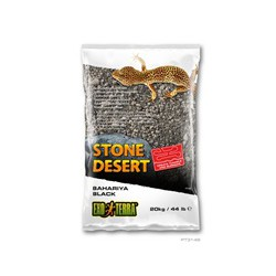 Substrat Désert de pierres E.T oasis de Bahariya, noir, 20 k
