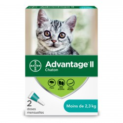 Advantage II Kitten 2ds 2.3kg