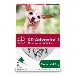 K9 Advantix II S Dog 2ds4.5kg