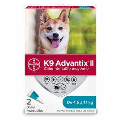 K9 Advantix II M Dog 2dsx1.0ml