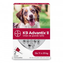 K9 Advantix II L Dog 2dsx2.5ml