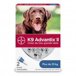 K9 Advantix II X Dog 2dsx4.0ml