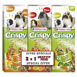 VL - CRISPY STICKS 2+1 HERBIVORES ASS. PACK **x8**