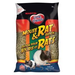 Martin Little friends Souris et Rats Extrudé (1 kg)