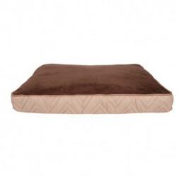 Dogit Dog Rect. Mattress Bed, Bge-Brwn