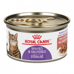 Spayed Neutered / StériliséTHIN SLICES IN GRAVY / ROYAL CANIN Canned Food
