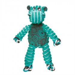 KONG « Floppy Knots » Hippopotame Petit/Moyen