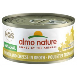 ALMO NATURE CHAT POULET/FROMAGE 70GR
