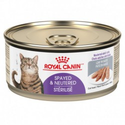 Spayed / Neutered / StériliséLOAF / PÂTÉ 5   82 oz 165 g