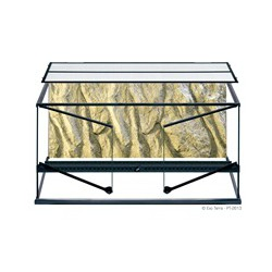 Terrarium en verre ExoTerra,90x45x45cm-V