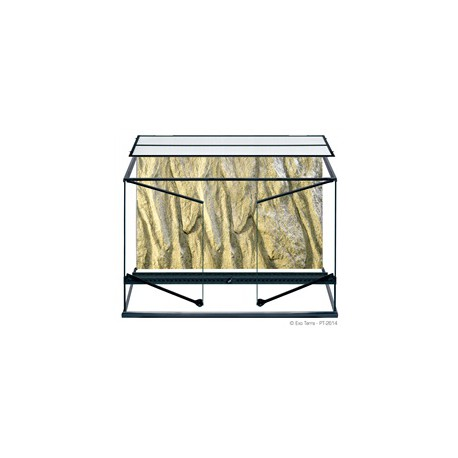 Terrarium en verre ExoTerra,90x45x60cm-V