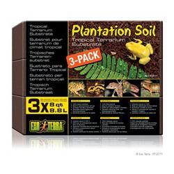 Substrat tropical Plantation Soil EX T fibres en noix de coc