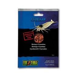 Crevettes EX T emballées sous vide, 15 g
