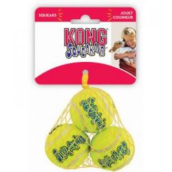 KONG « Squeaker Air » Balles Moyennes Paquet de 3