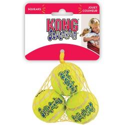 KONG « Squeaker Air » Balles Très-Petites Paquet de 3