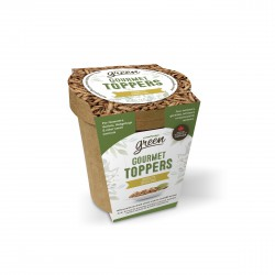 Gourmet Toppers Living World Green, Insectes, 125 g (4,4 oz)
