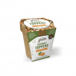 PROMO - Oct - Gourmet Toppers Living World Green, Délice au LIVING WORLD Friandises