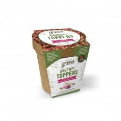 PROMO - Oct - Gourmet Toppers Living World Green, Mélange b LIVING WORLD Friandises