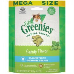 Greenies Catnip complete Dental Treat for cats 4,6 oz