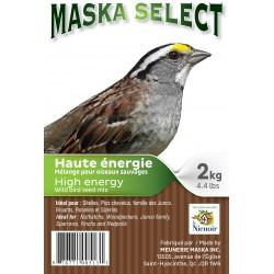 MASKA SÉLECT OISEAUX SAUVAGES H. ÉNERGIE 2 KG