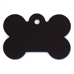 Médaille os large noir