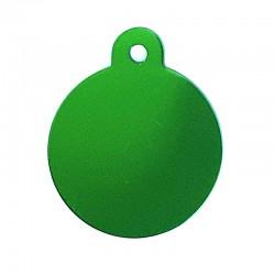 Médaille cercle large vert