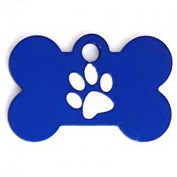 Médaille os petit patte bleu