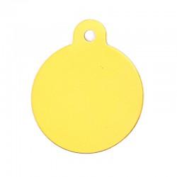 Médaille cercle petit or