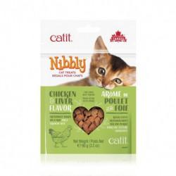 Régals CA Nibbly, poulet/foie, 90 g