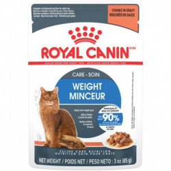 Ultra Light/ Ultra LégerCHUNKS IN GRAVY / MORCEAUX ROYAL CANIN Canned Food