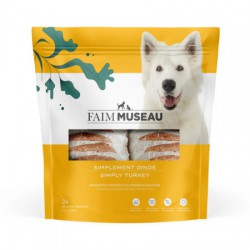 Chien -6 lbs - Simplement dinde (24 médaillons)