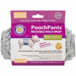 POOCHPANTS MÂLE MEDIUM 15 À 35 LB