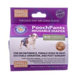 POOCHPANTS SMALL 8 À 15 LB