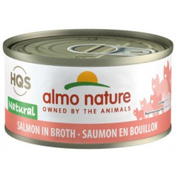 ALMO NATURE CHAT SAUMON AU NATUREL 70GR
