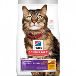 Hill s ScDiet Adult Sensitive Stomach & Skin 15,5 lbs