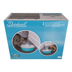 PETSAFE FONTAINE DRINKWELL PAPILLON 1,5 LITRES (PW PETSAFE Food And Water Bowls