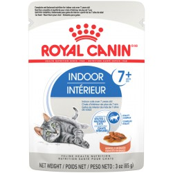 Indoor 7+ / Intrérieur 7+    Morcels in sauce ROYAL CANIN Canned Food