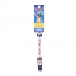 COLLIER SEC.CHAT 3/8X8-11 ROSE/POIS